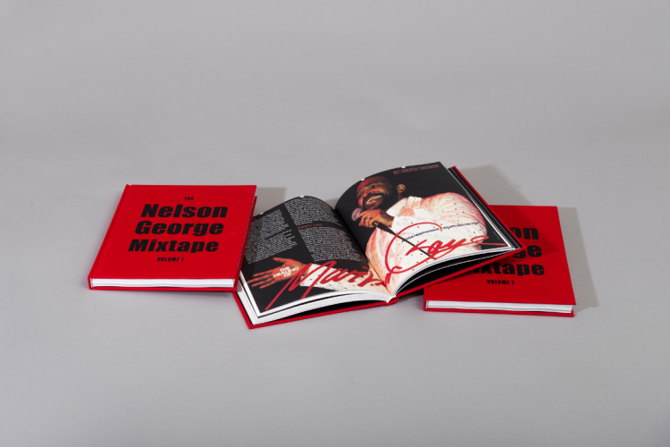 Nelson George Mixtape hardcover book printed by KOPA printing